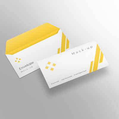 Mockup Envelope Design
