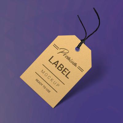 Label Mockup template