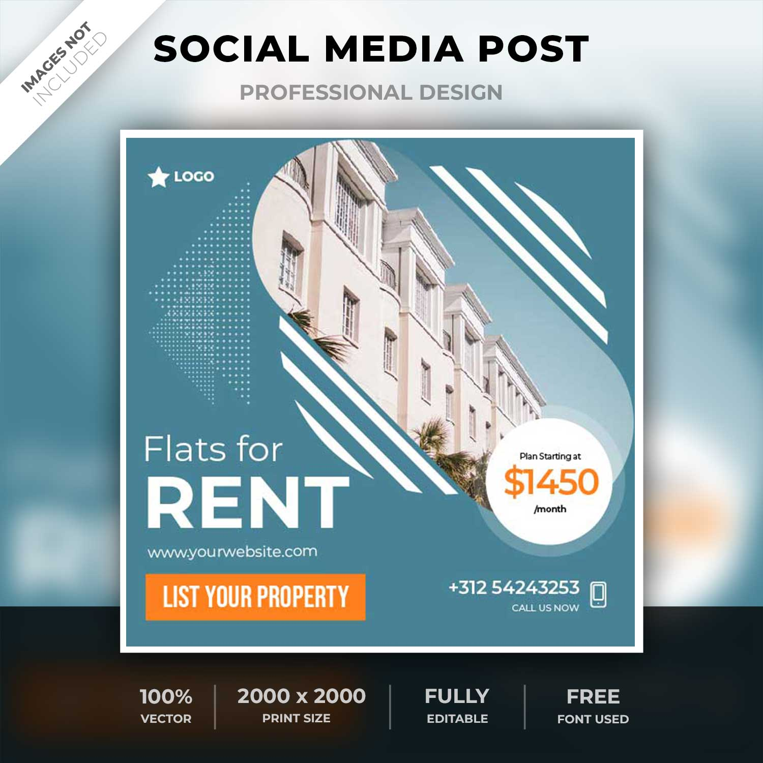Property for rent post template