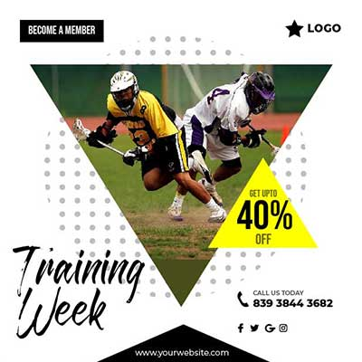 Training week post template