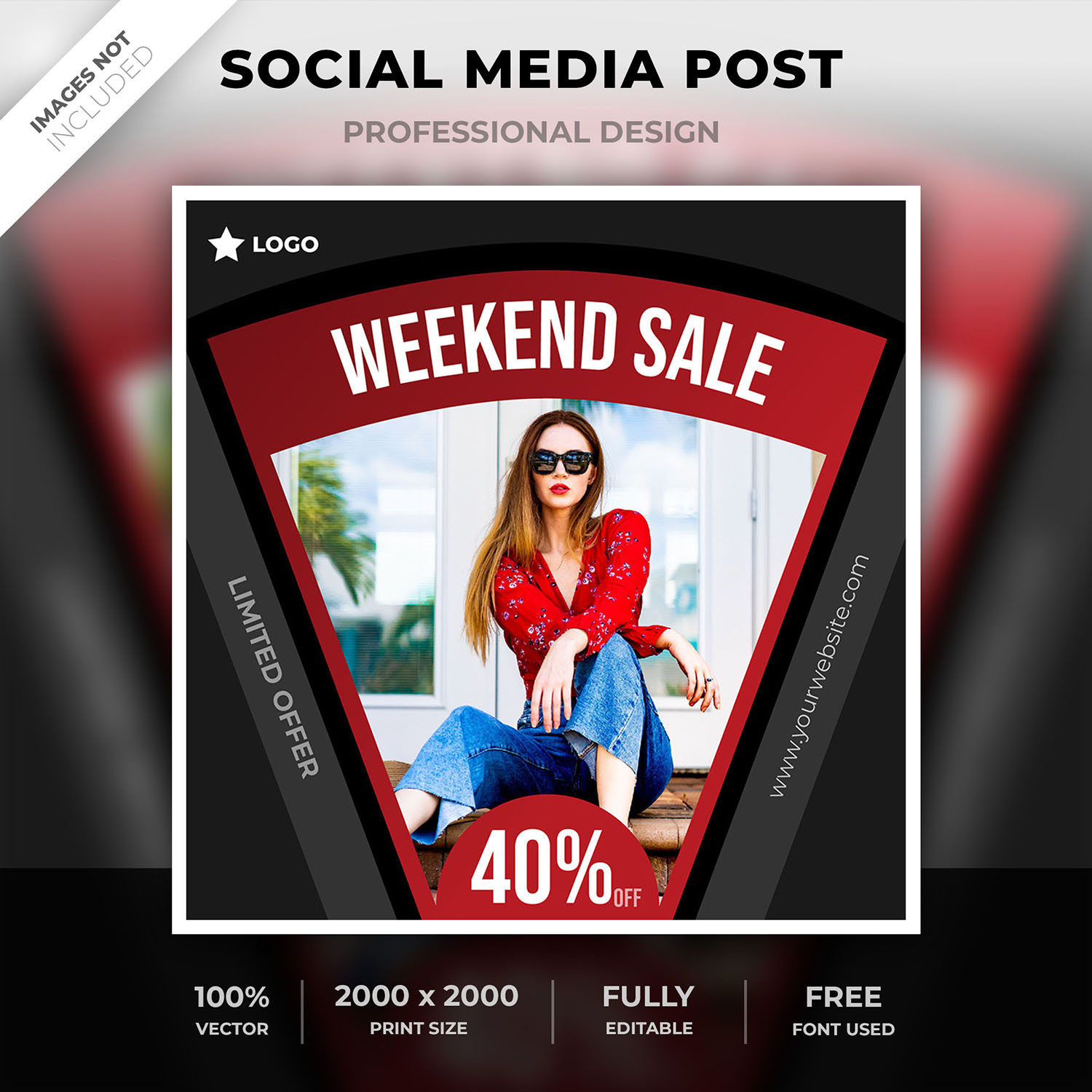 Weekend sale post